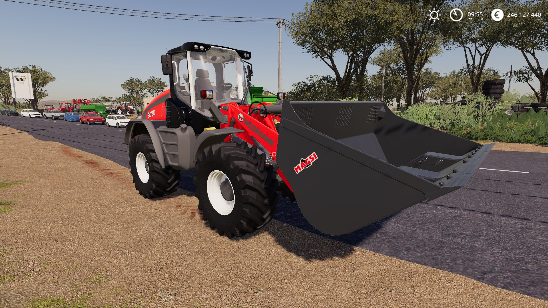 WEIDEMANN 9080 V1.0.0.0 для Farming Simulator 2019