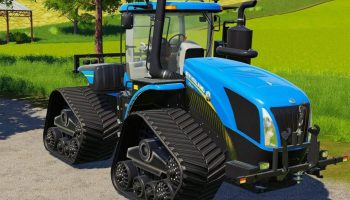 NEW HOLLAND T9 SMARTTRAX V1.0.0.0 для Farming Simulator 2019