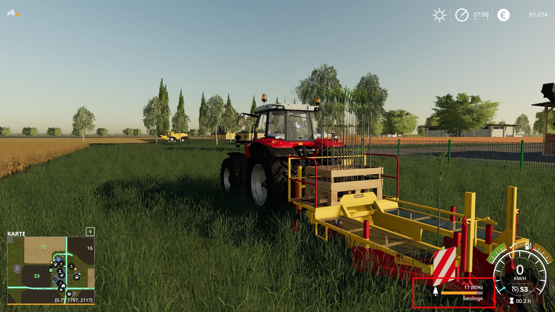 MORETREES V1.0.0.0 для Farming Simulator 2019