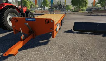 CHIEFTAIN LOW LOADER V1.0 для Farming Simulator 2019