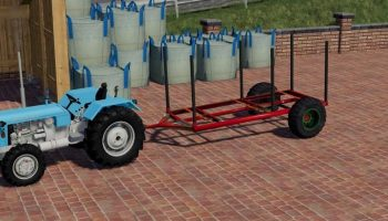 PRIKOLICA ZA DRVA V1.0.0.0 для Farming Simulator 2019