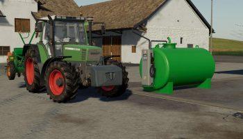 FUELTANK 5000L V1.0.1.0 для Farming Simulator 2019