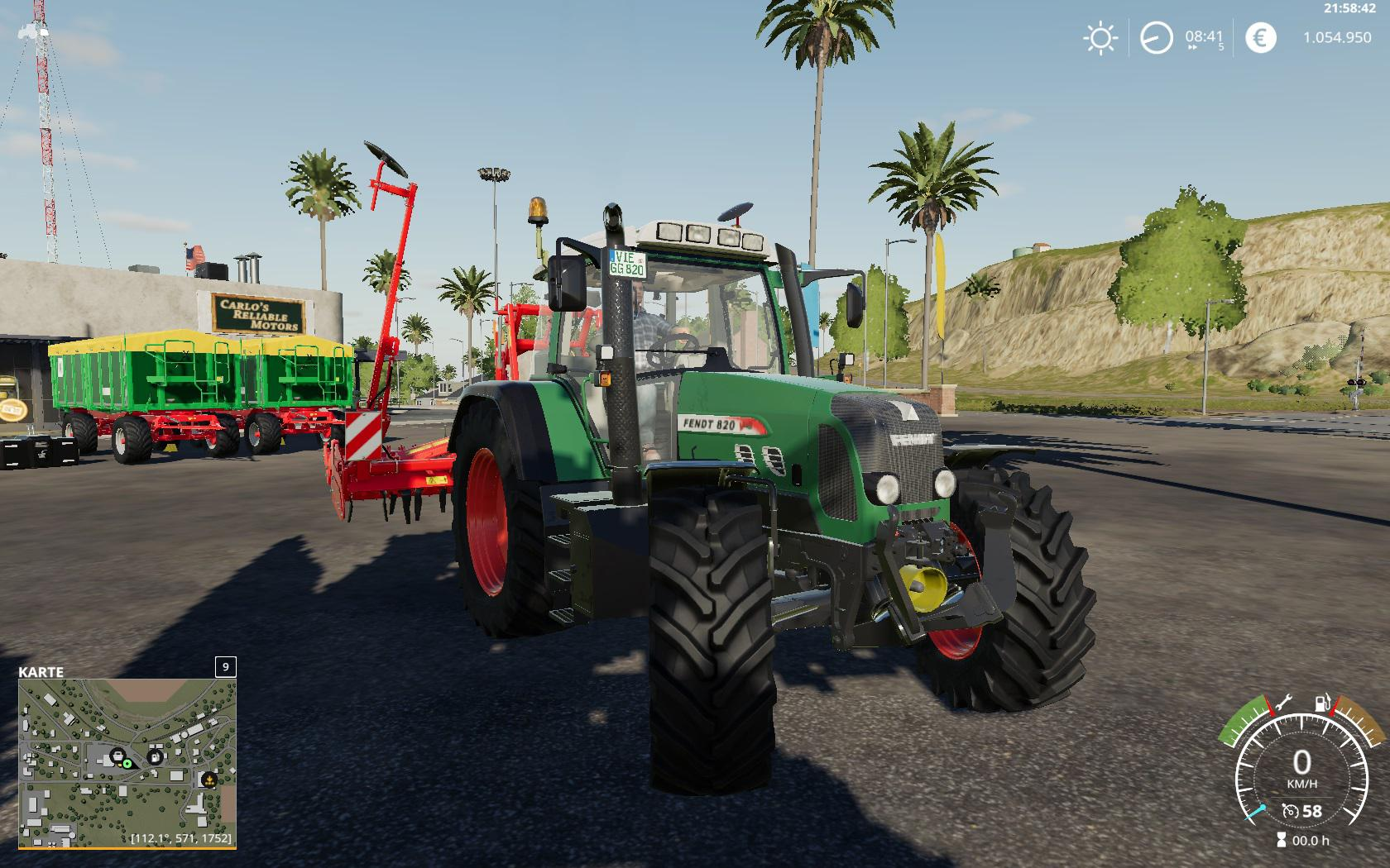 FENDT 800 VARIO TMS V1.0.1 для Farming Simulator 2019
