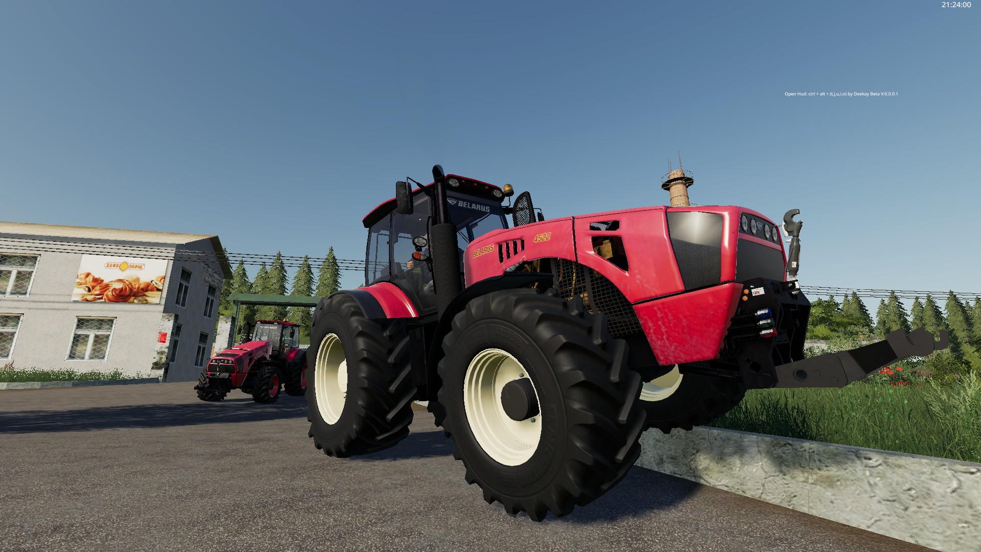 Belarus 4522 v1.1.0.0 для Farming Simulator 2019