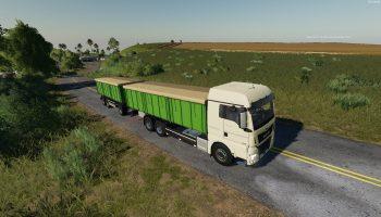 Маn-3ерновоз V 1.7. для Farming Simulator 2019