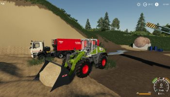 Claas Torion 1511 V1.0.0.0 для Farming Simulator 2019