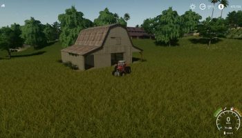 TENNESSEE BARN V1.0 для Farming Simulator 2019