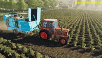 FORTSCHRITT K689 POTATO COMBINE V1.0 для Farming Simulator 2019