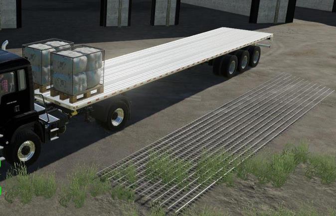 LIZARD FLATDECK AUTOLOAD / UNLOAD V0.0.1.2 для Farming Simulator 2019