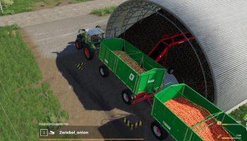 STORAGE CARROTS ONIONS V1.0.0.2 для Farming Simulator 2019