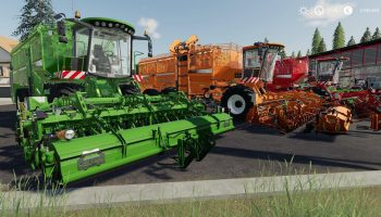 HOLMER PACK FIX BY STEVIE для Farming Simulator 2019