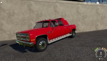 CHEVROLET SILVERADO C30 QUAD CAB DUALLY для Farming Simulator 2019