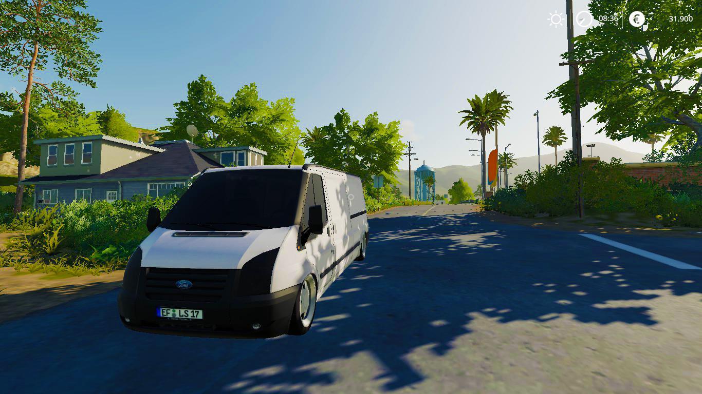 FORD TRANSIT 2010 V3.0 для Farming Simulator 2019