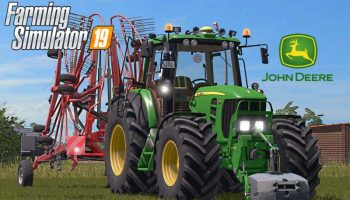 JOHN DEERE 7430/7530 V1.0.0.0 для Farming Simulator 2019