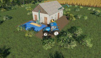 SMALL SILO V1.0.0.0 для Farming Simulator 2019