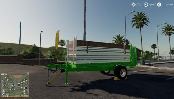 [FBM TEAM] MANURE SPREADER SET 8.5T V2.0.0.0 для Farming Simulator 2019