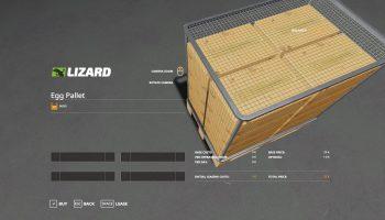 EGG PALLET 9600 V1.0 для Farming Simulator 2019