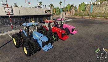 JOHN DEERE SERIES 8R BY STEVIE V 1.0.0.0 для Farming Simulator 2019