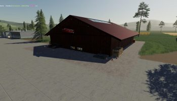 WAREHOUSE TAPE V1.0.0.0 для Farming Simulator 2019