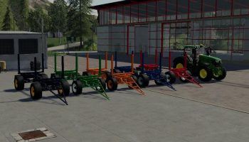 [FBM TEAM] METALTECH LONGWOOD V1.0.0.0 для Farming Simulator 2019