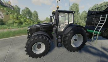 JOHN DEERE 6R BLACK EDITION V1.0.0.9 для Farming Simulator 2019