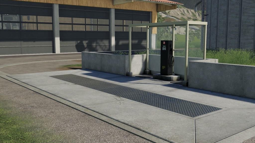 FUEL STATION V1.0.0.0 для Farming Simulator 2019