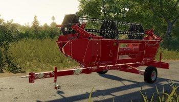 CASE IH 1030 14FT CUTTER TRAILER V1.0 для Farming Simulator 2019