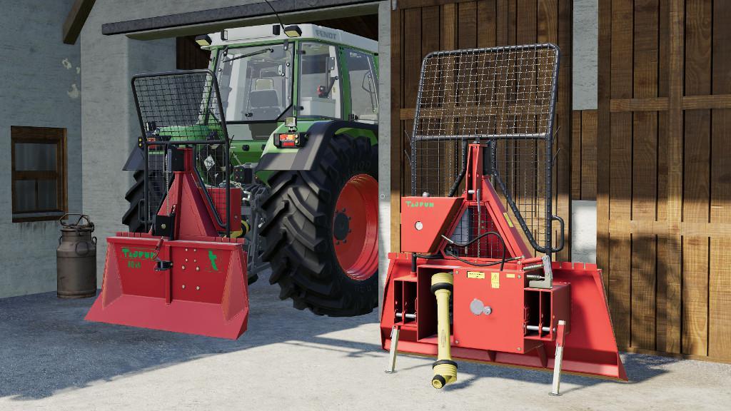 TAJFUN EGV 80 AHK V1.0.0.0 для Farming Simulator 2019