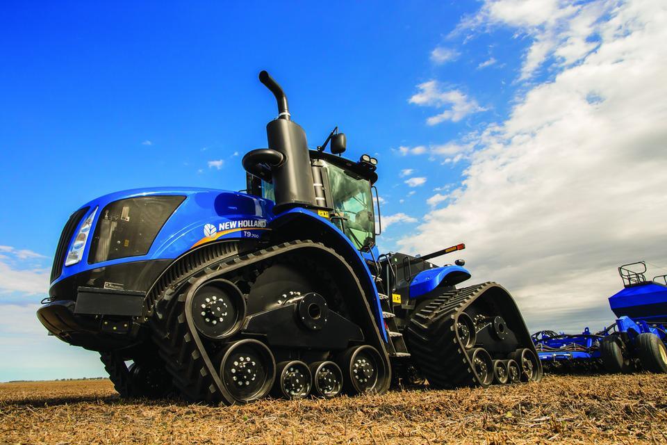 NEW HOLLAND US T9 700 UPDATED V1.1 для Farming Simulator 2019