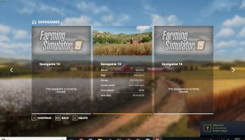 SAVE GAME (13) WITH UNLIMITED MONEY V1.0.0.0 для Farming Simulator 2019