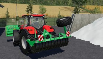 DUEVELSDORF SILAGEWALZE V1.0.0.0 для Farming Simulator 2019