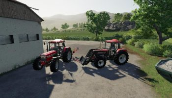 CASE 956 — 1056 XL | BJ 86-92 V1.0.1 для Farming Simulator 2019