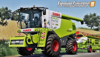 CLAAS LEXION 670 PACK V1.0.0.0 для Farming Simulator 2019
