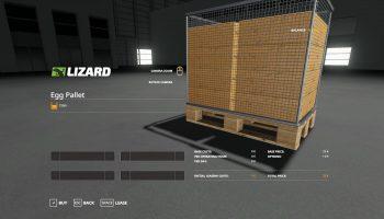 EGG PALLET 7200 V1.0 для Farming Simulator 2019