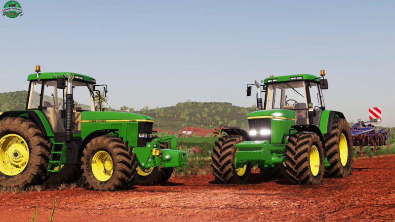 JOHN DEERE 7010 SERIES V1.1.0.0 для Farming Simulator 2019