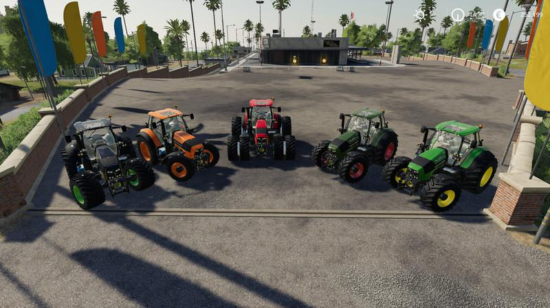 DEUTZ SERIES 7 V3.5 для Farming Simulator 2019