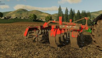 ARAPLOW RAZOL 5M V1.0.0.0 для Farming Simulator 2019