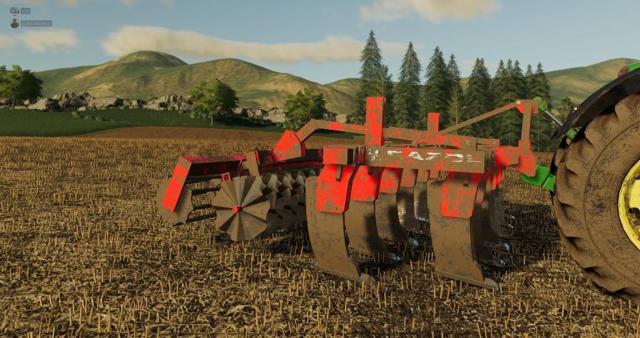 ARAPLOW RAZOL 5M V1.0.0.0 для Farming Simulator 2019
