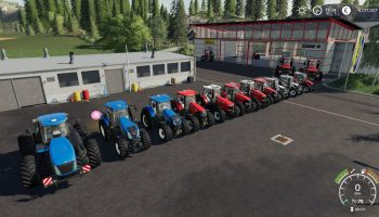 TRACTOR PACK BY STEVIE для Farming Simulator 2019