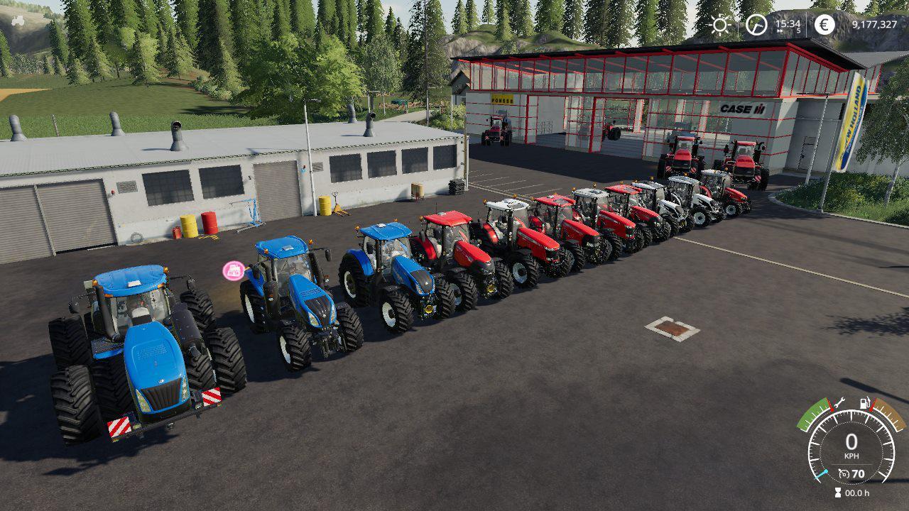 TRACTOR PACK BY STEVIE для Farming Simulator 2019