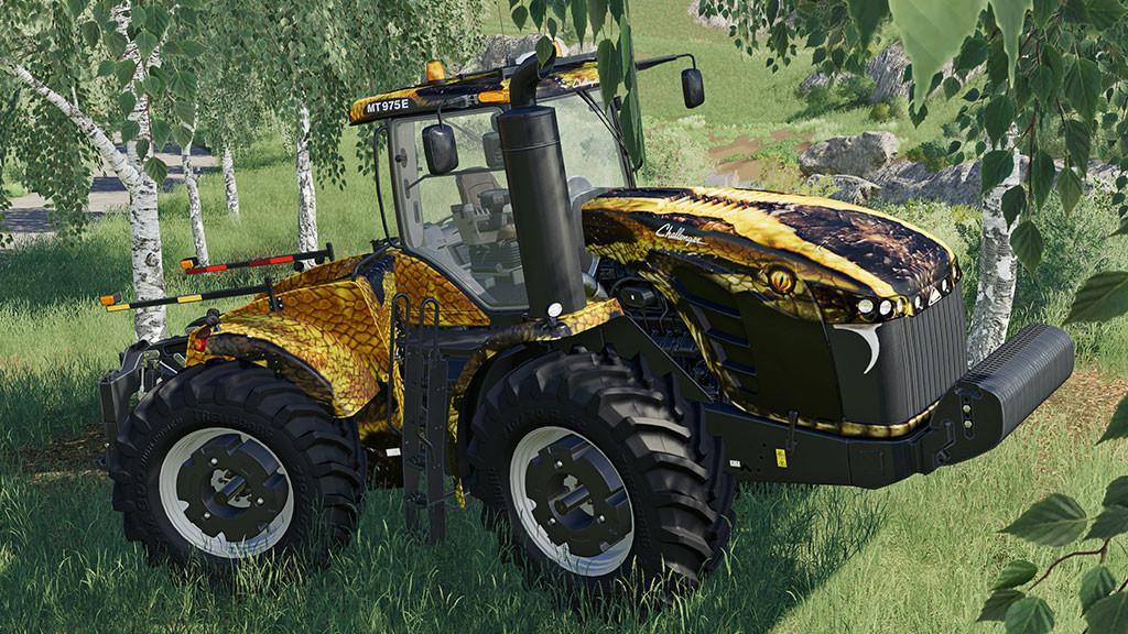 CHALLENGER MT900E FIELD ANACONDA V1.0.0.0 для Farming Simulator 2019