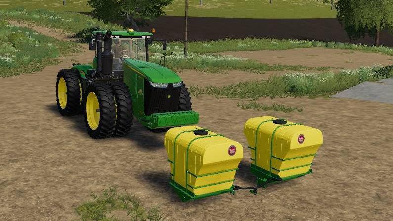 BIG JOHN FRONT TANKS FOR CUSTOM'S 9R V1.0.1 для Farming Simulator 2019