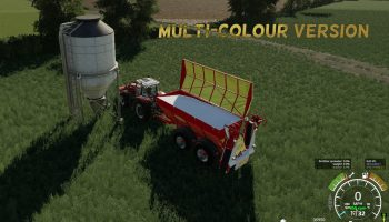 BREDAL K165 LIME SPREADER V1.1 для Farming Simulator 2019