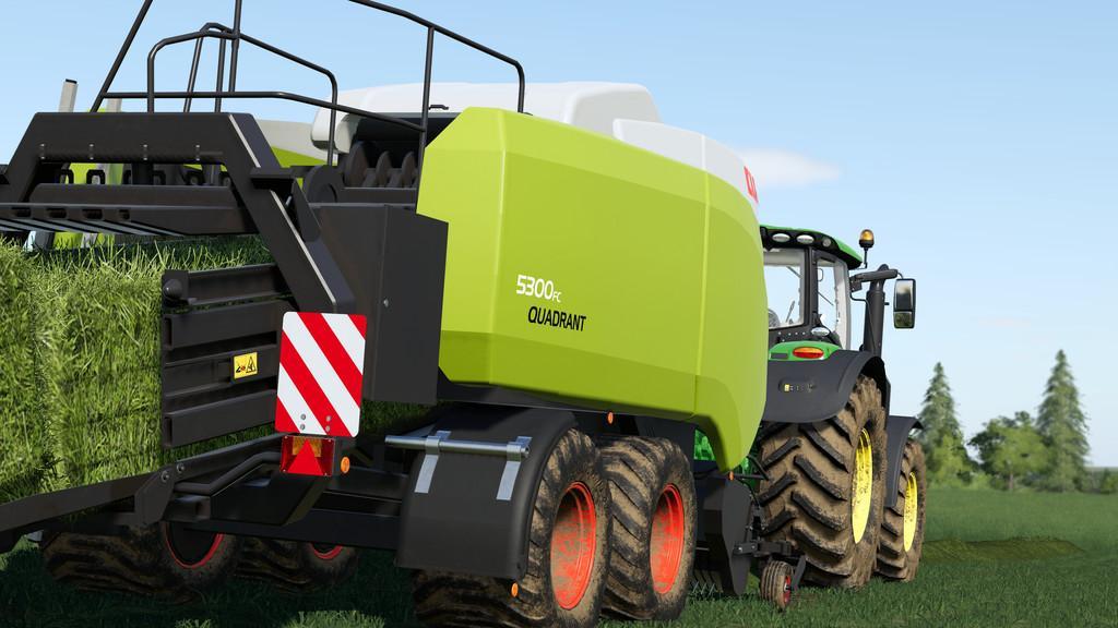 CLAAS QUADRANT 5300 FC V 1.0.0.0 для Farming Simulator 2019