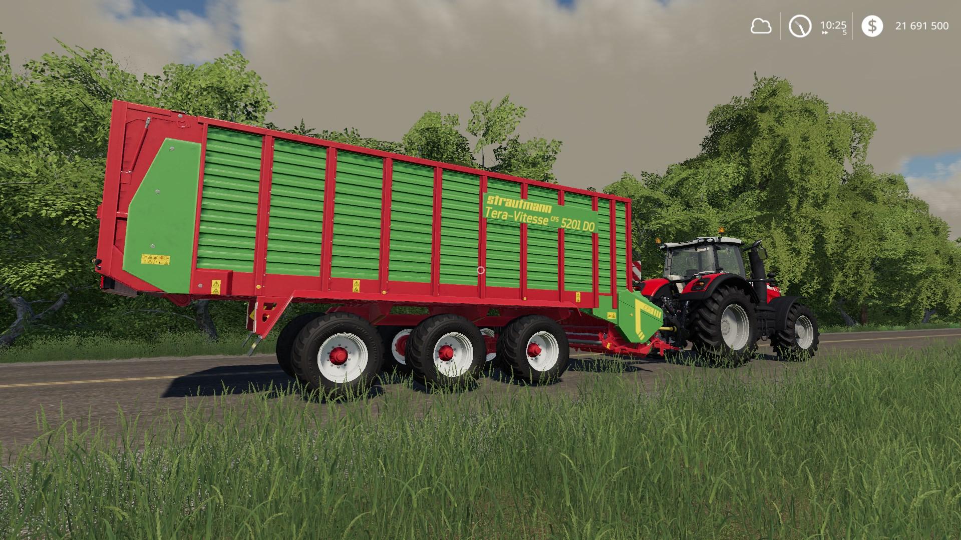 STRAUTMANN TERA-VITESSE CFS 5201 DO V1.0.0.0 для Farming Simulator 2019