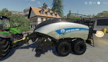 NEW HOLLAND BB1290 V1.0.0.0 для Farming Simulator 2019