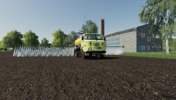 IFA W 50 SPRAYER V1.0 для Farming Simulator 2019