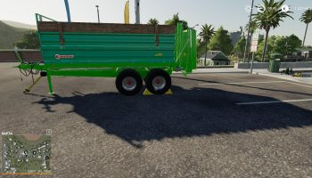 [FBM TEAM] MANURE SPREADER SET 14T V1.0.0.0 для Farming Simulator 2019