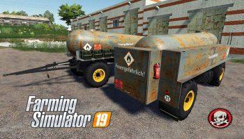 FORTSCHRITT HL 50/45.2 TANKER V1.2.0 для Farming Simulator 2019
