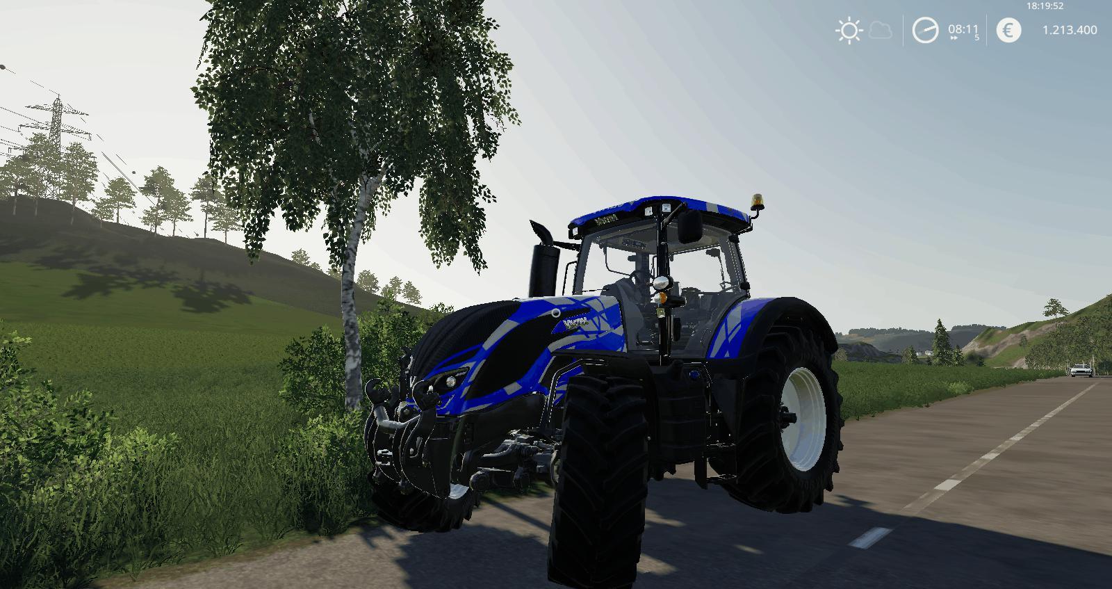 VALTRA S SERIES SPORTS EDITION V1.0 для Farming Simulator 2019